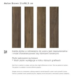 Paradyz MALOE Brown